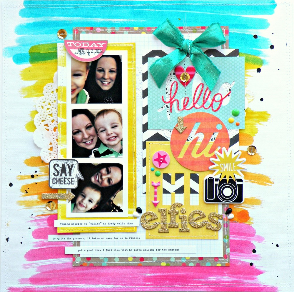 Scrapbook pages ideas