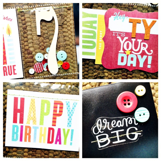 me & my BIG ideas:  mambi birthday POCKET PAGES