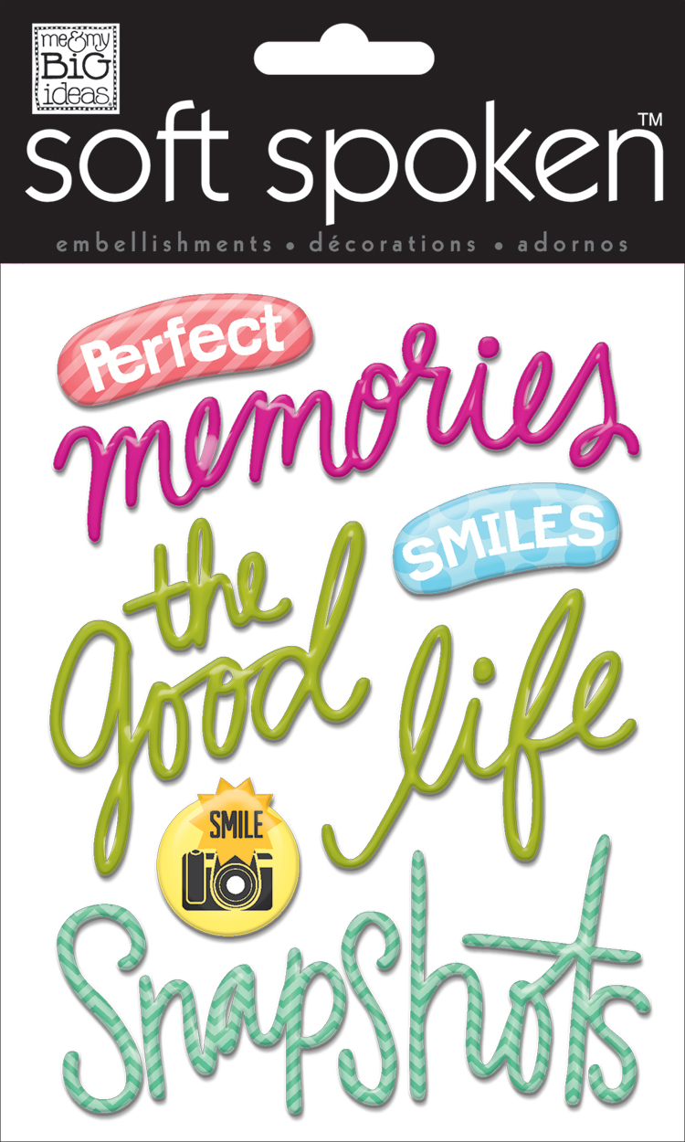 mambi:  SS-1484 perfect memories soft spoken scrapbooking, crafting embellishment.  me & my BIG ideas SHOP.