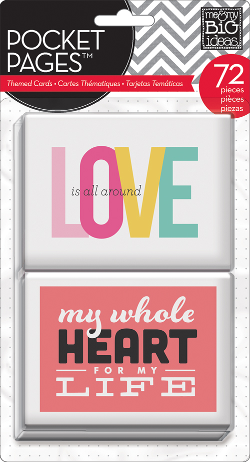 me & my BIG ideas:  mambi POCKET PAGES, LOVE project life style cards in the mambi SHOP.  TPC-06
