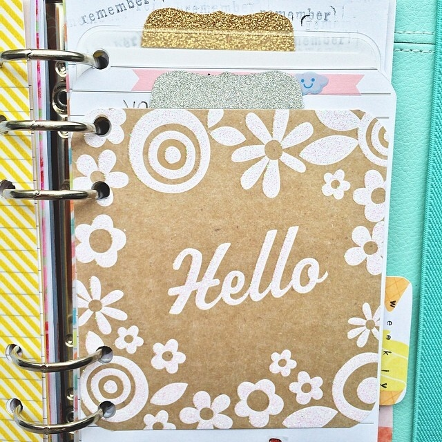 CARDS in an INSTANT used for filofaxing.  FILOFAX with mambi goodies, so fun.