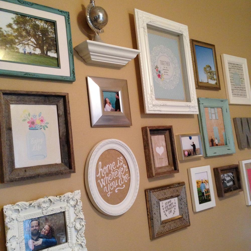 Gallery Wall in my Bedroom — me & my BIG ideas