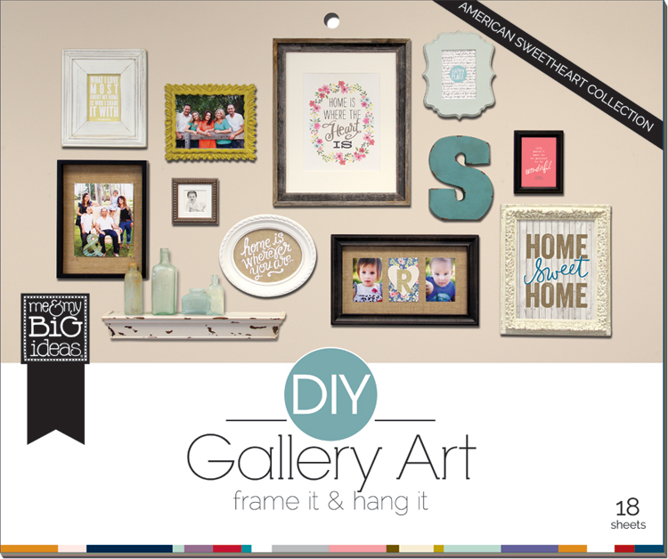 DIY Gallery Wall Art Pad - Makes home decor so easy!