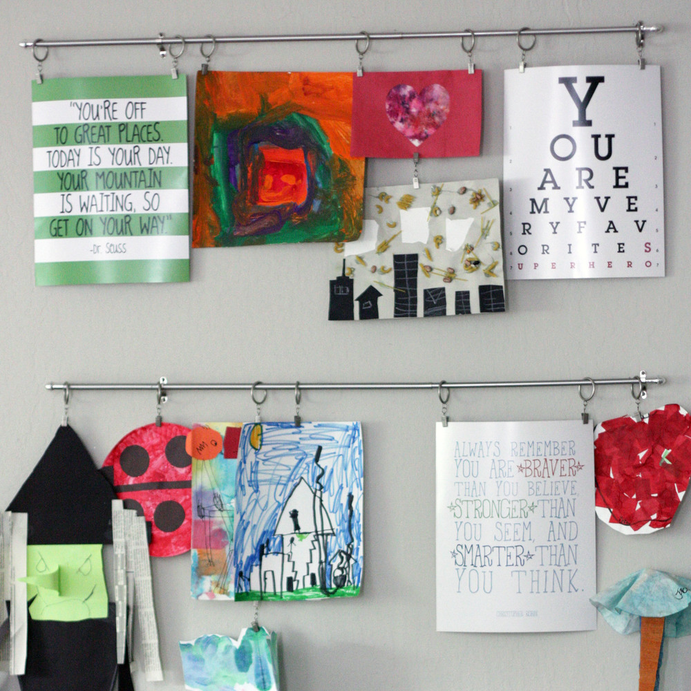 DIY Boy mambi Gallery Art Pads for home/room decor made easy.
