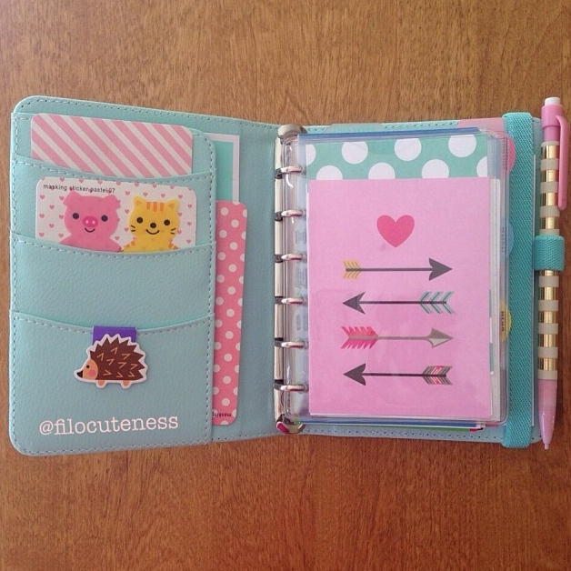 LOVE pocket pages by me & my BIG ideas.  Filofax decorations.