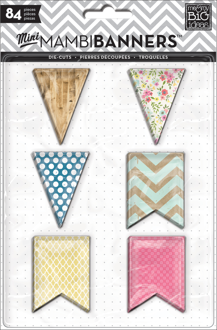 mambi sneak peek!  Coming to Hobby Lobby and the mambiSHOP soon!  New vintage, shabby chic banners, transparacies and cute-ness!