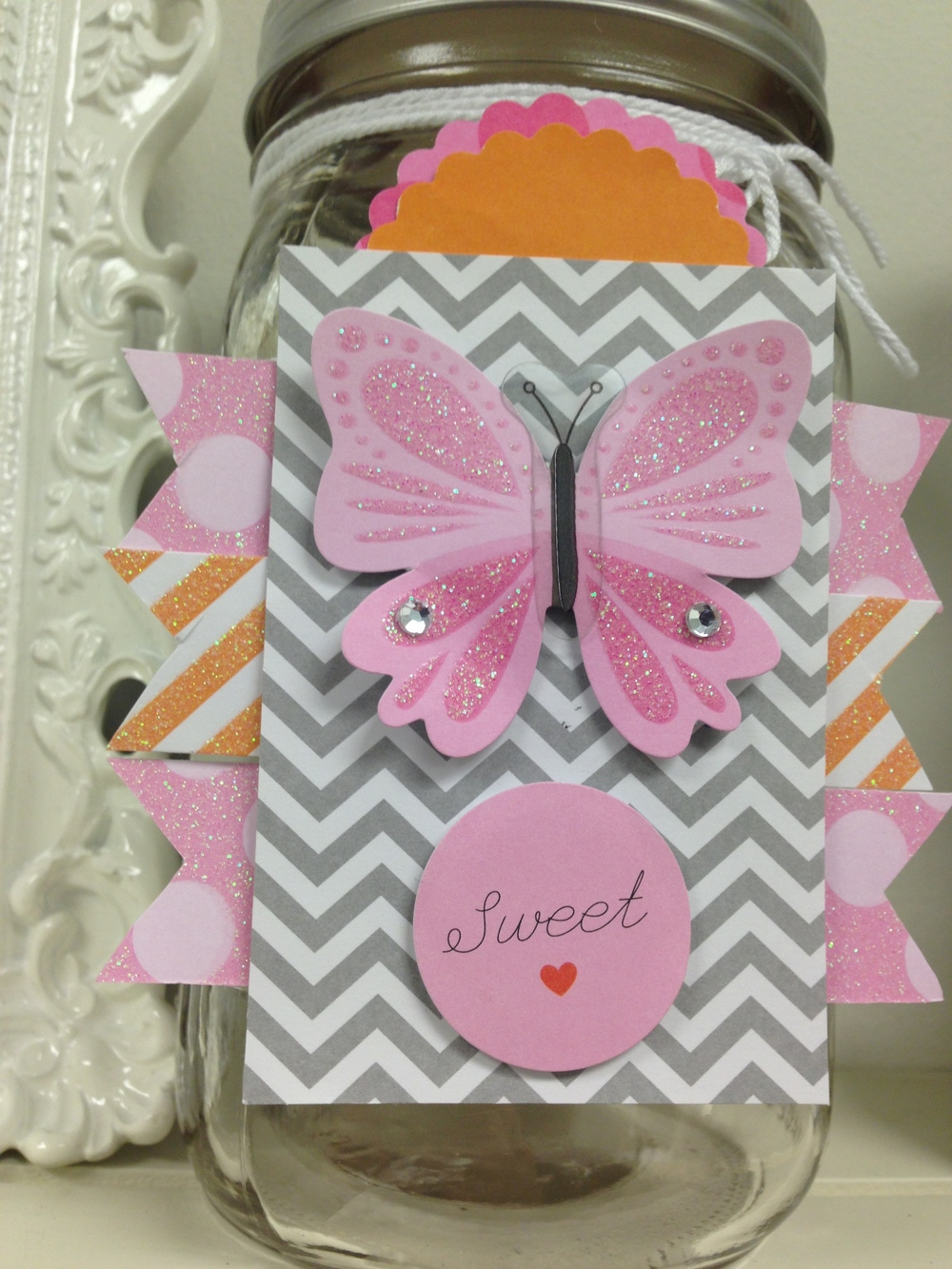 mambi blog:  DIY Little Girl decorations for 1st butterfly themed birthday.  POCKET PAGES and used.