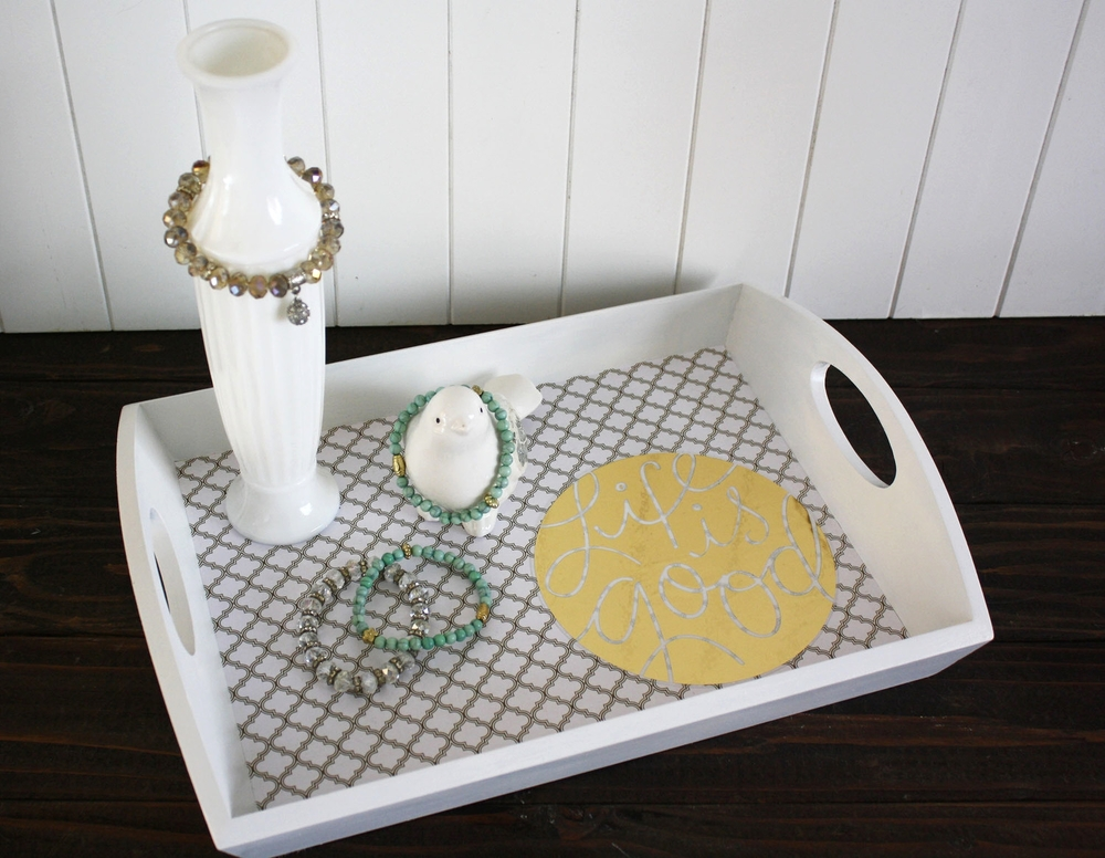 Life is Good DIY tray | mambi.jpg