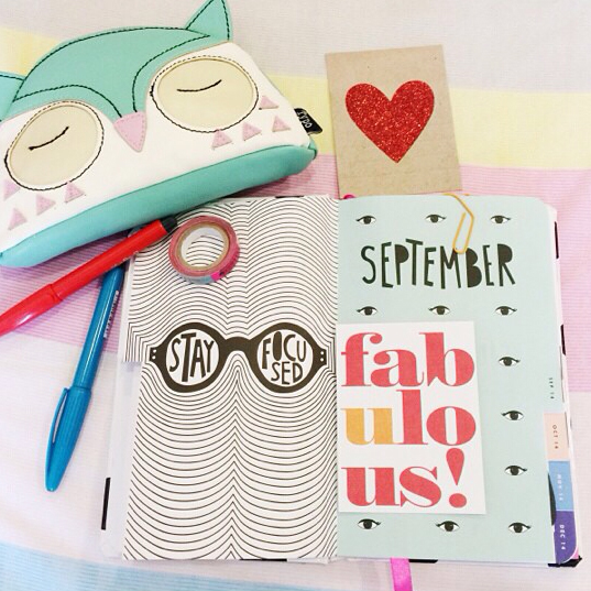 @cze94 using mambi product in her planner | me & my BIG ideas