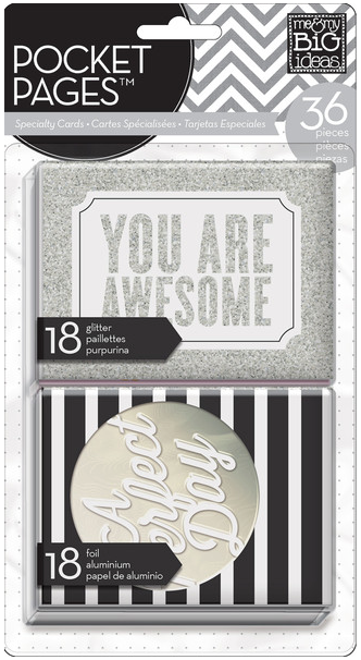 You Are Awesome Specialty POCKET PAGES™ insert cards | me & my BIG ideas