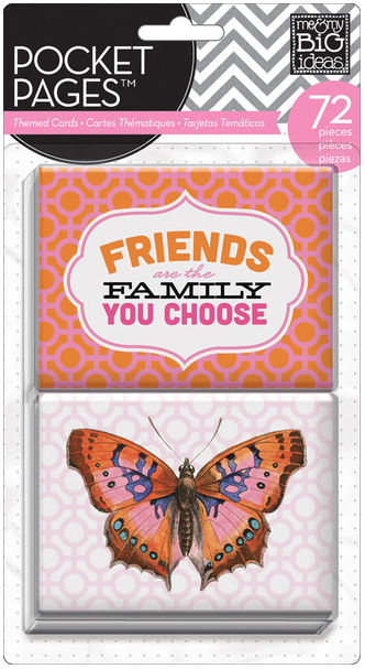 Friends POCKET PAGES™ insert cards | me & my BIG ideas