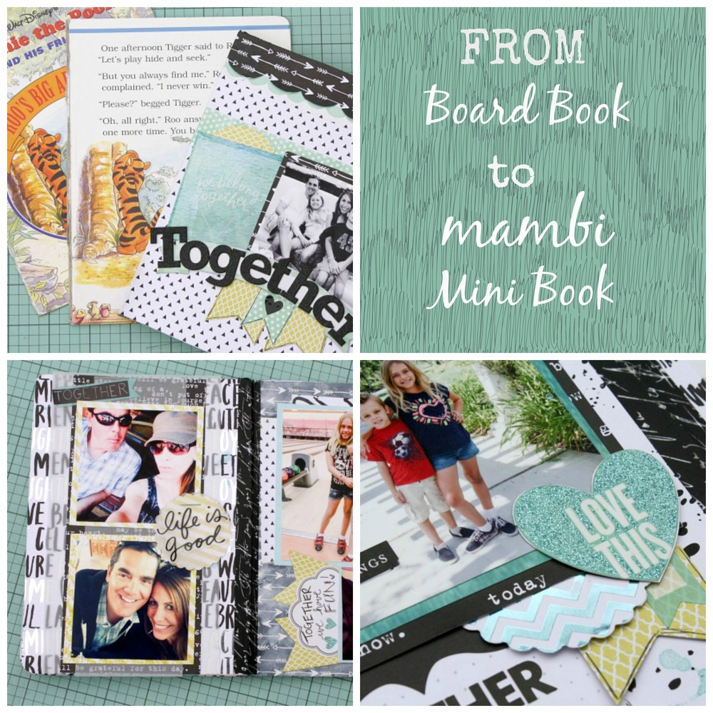 from board book to mambi mini | me & my BIG ideas