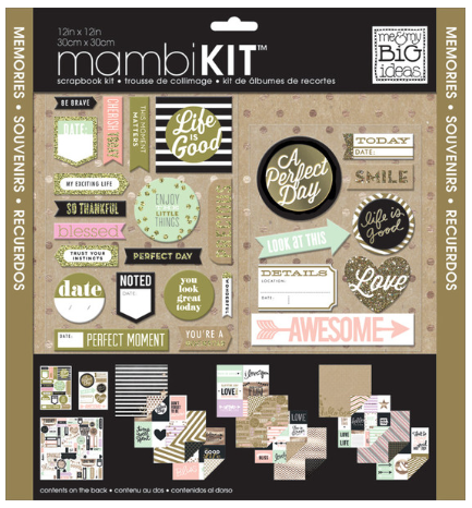 12x12 Scrapbook Kit - Life Is Good | me & my BIG ideas