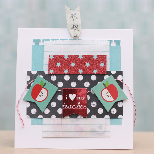 back to school DIY gift card holder for teacher by April Orr
