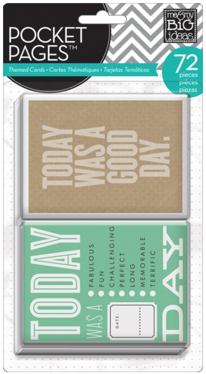 'Today' POCKET PAGES™ cards | me & my BIG ideas