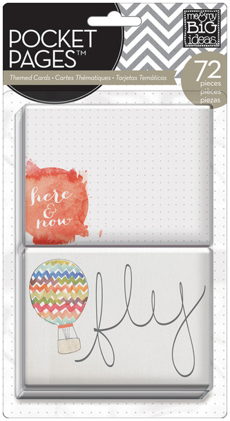 Here & Now POCKET PAGES™ themed cards   me & my BIG ideas