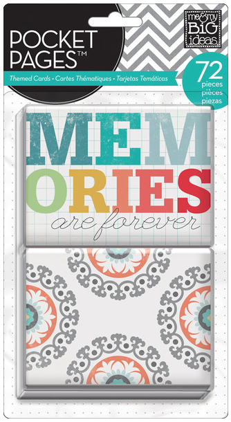 Memories POCKET PAGES™ themed cards   me & my BIG ideas