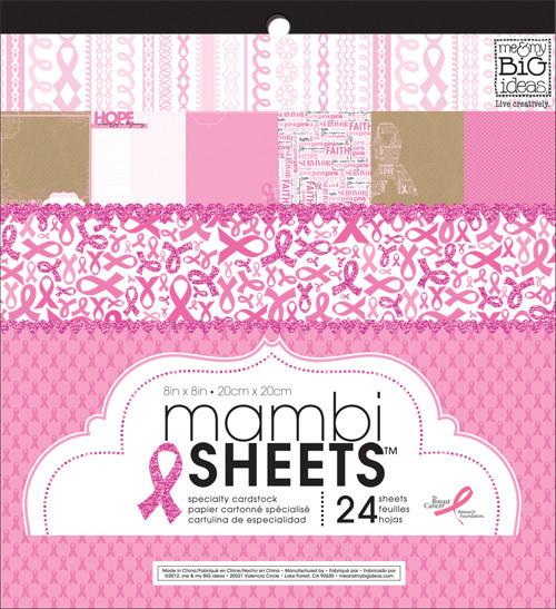 'Survivor' 12x12 mambiSHEETS paper pad   me & my BIG ideas