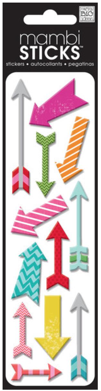 Puffy Arrows mambiSTICKS puffy stickers   me & my BIG ideas