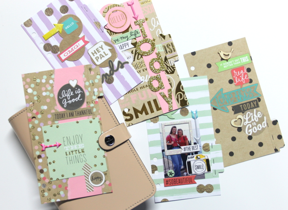 Planner pages five gold rush planner inserts me my for Me my big ideas planner