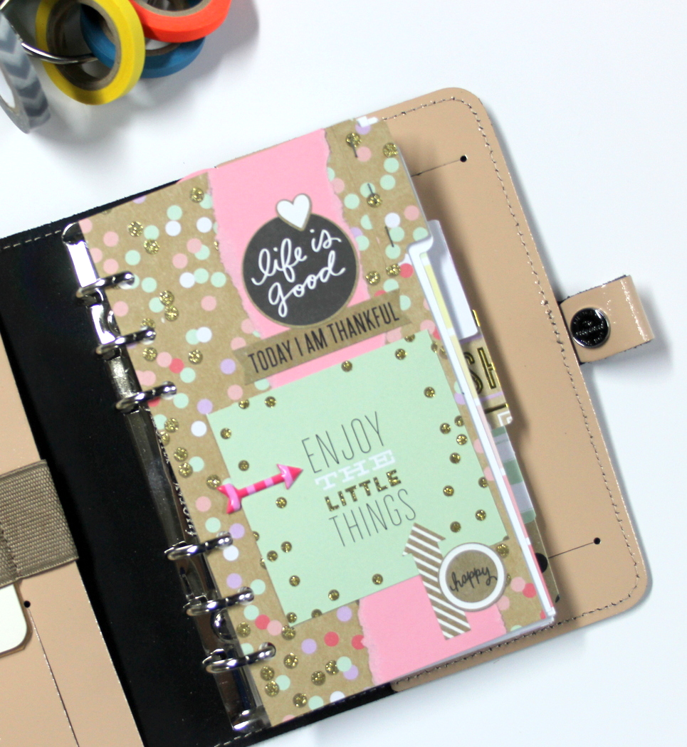 mambi adorned planner inserts by Design Team member Candi Billman | me & my BIG ideas
