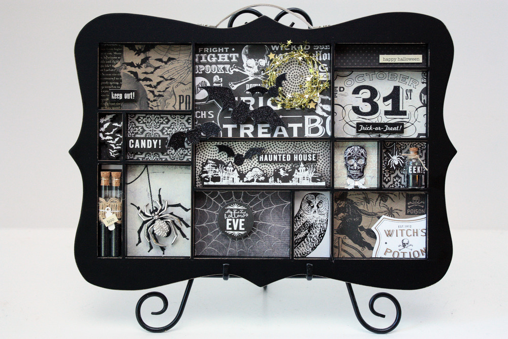 halloween decor by mambi design team member april orr me my big ideas