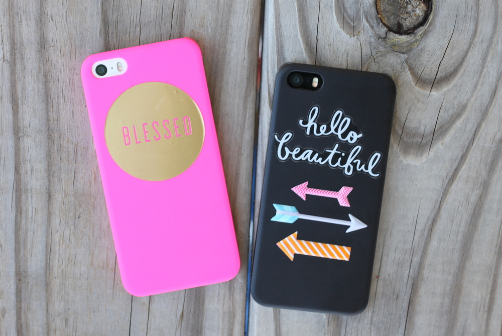 jazzed up phone cases using mambiSTICKS by mambi Design Team member Heather Adams | me & my BIG ideas