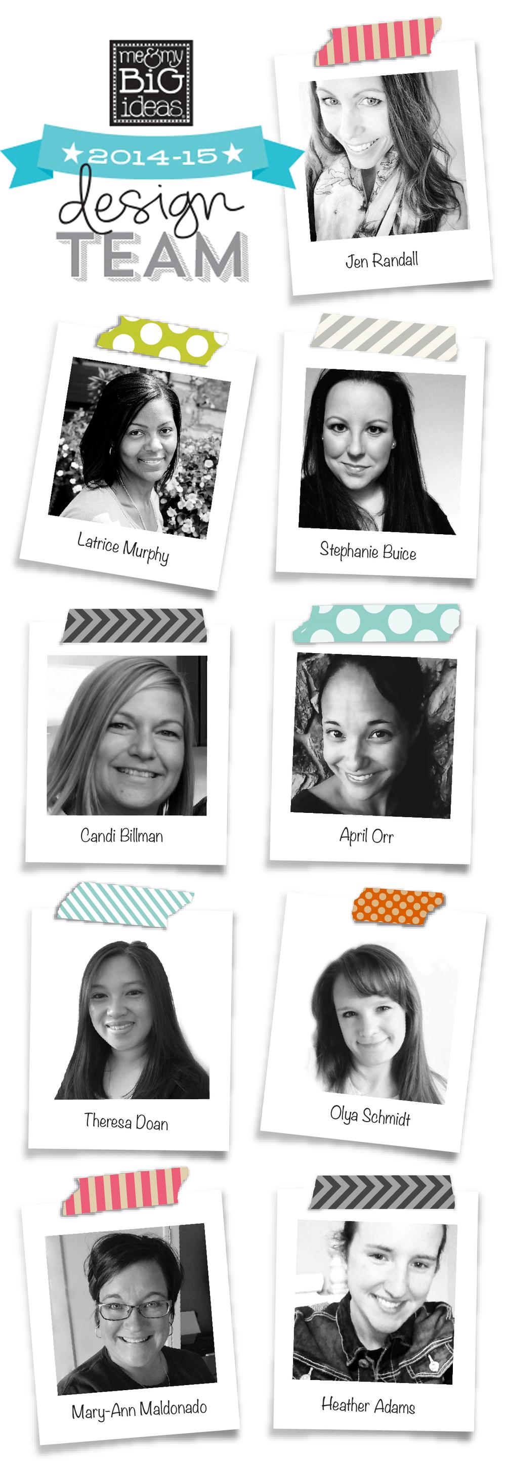 2014-2015 mambi Design Team