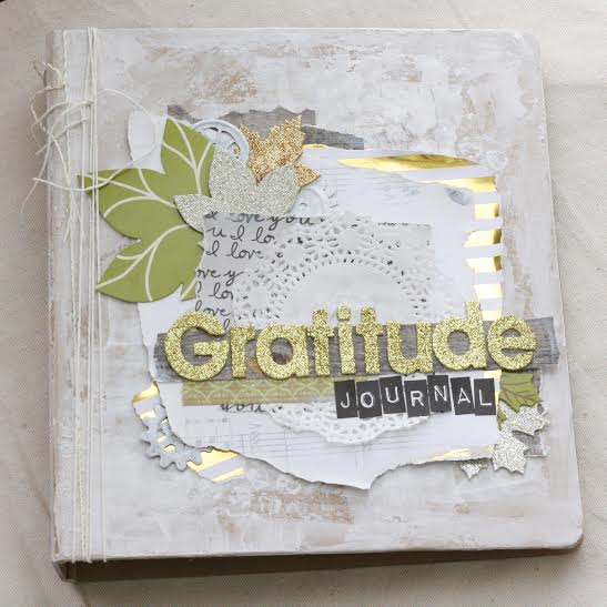 Gratitude Journal by mambi Design Team member Jen Randall | me & my BIG ideas