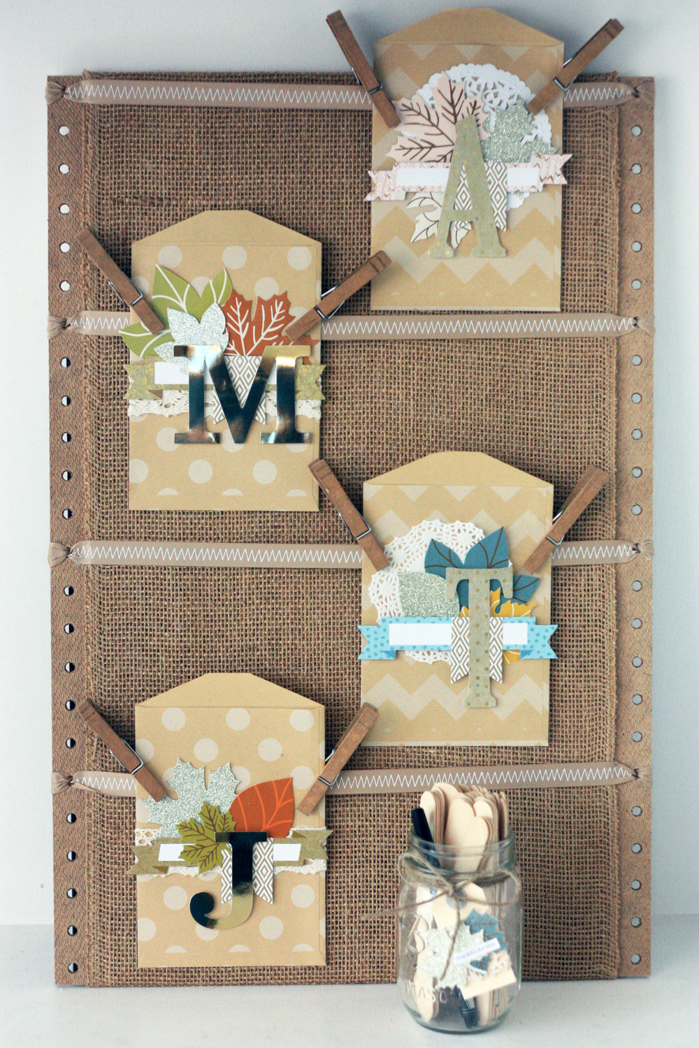 family Gratitude Board by mambi Design Team member April Orr | me & my BIG ideas
