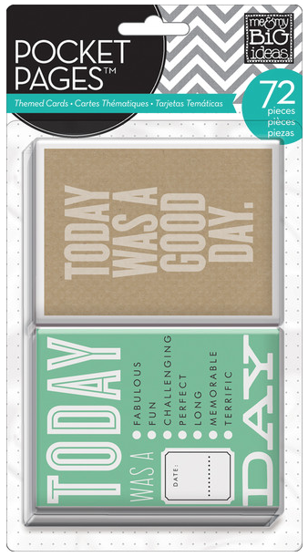 Today POCKET PAGES™ pack | me & my BIG ideas