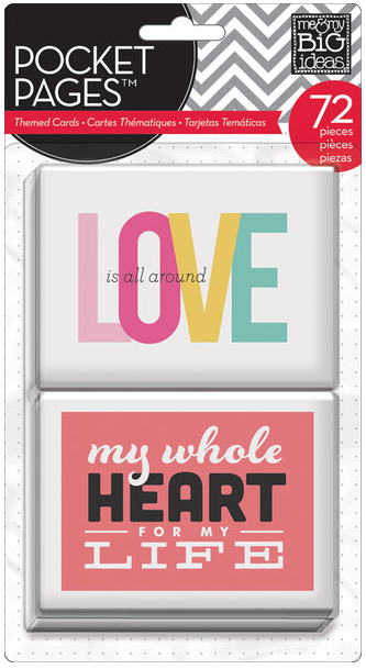Love POCKET PAGES™ pack | me & my BIG ideas