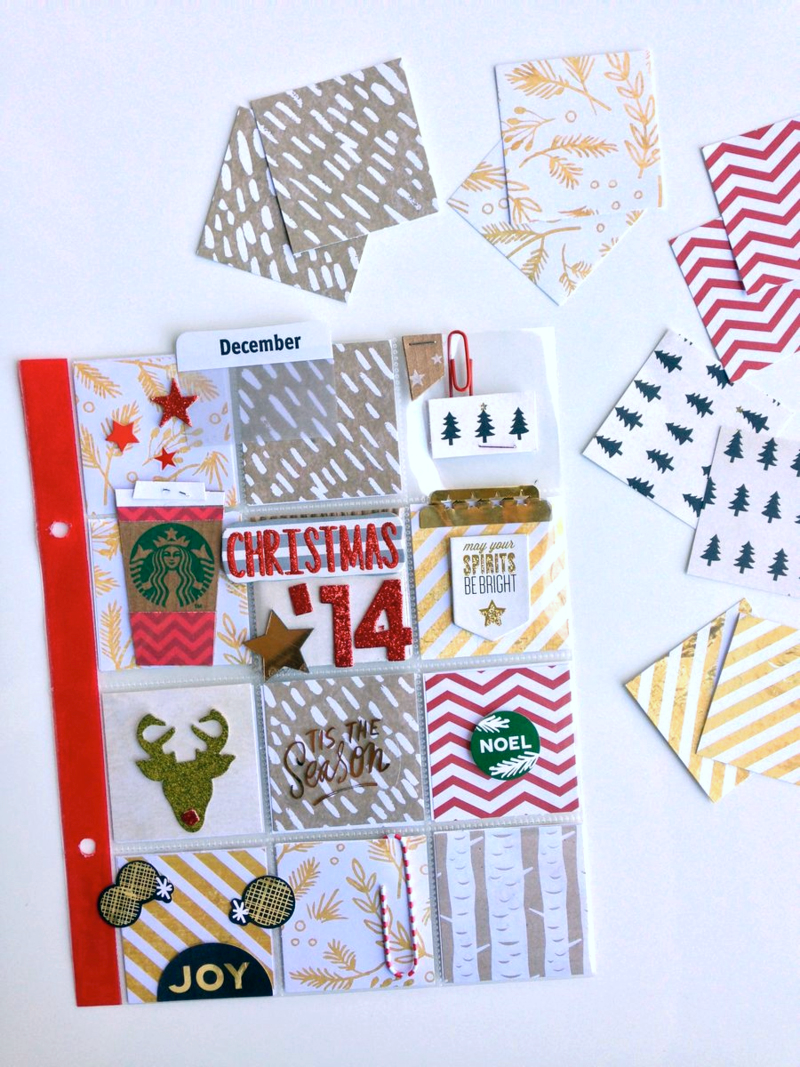 Christmas '14 / beginning pages | me & my BIG ideas