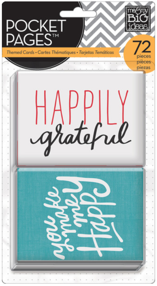"""I Love Life"" POCKET PAGES™ cards 