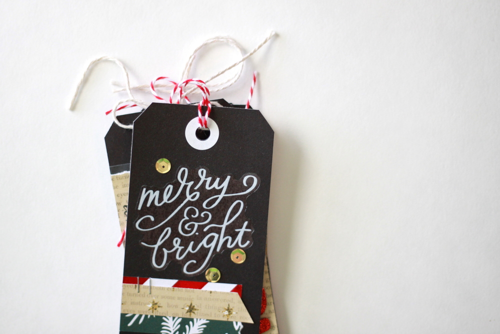 Diy christmas gift tag ideas