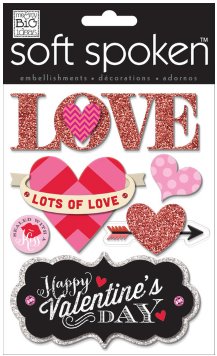 Scrapbook Page Love Love Love You Me My Big Ideas