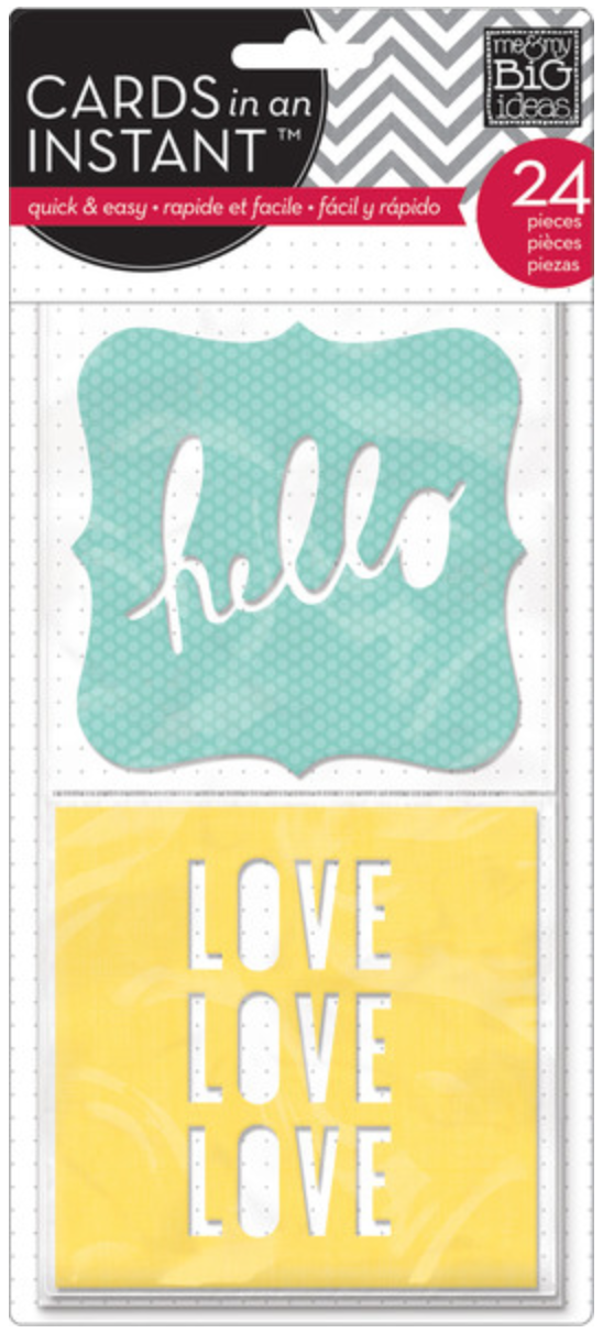 'Hello Love' CARDS in an INSTANT™ | me & my BIG ideas