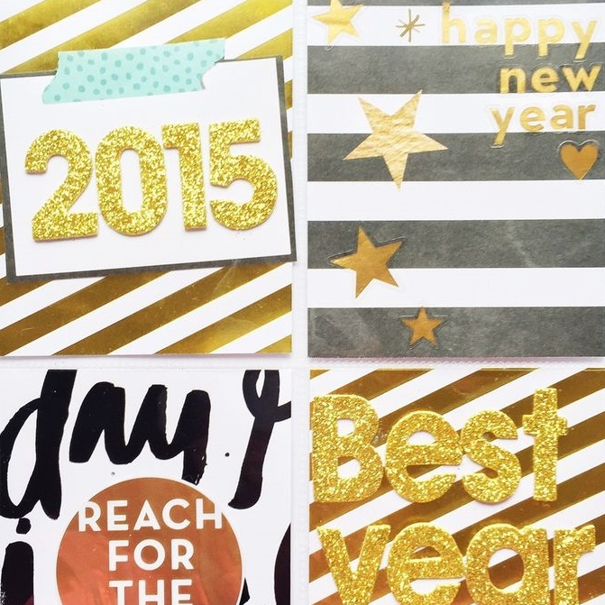Holiday Crafts | New Year | me & my Big ideas