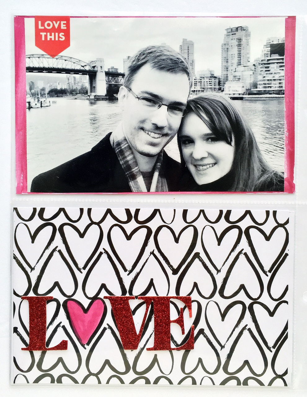 'LOVE love LOVE LOVE' POCKET PAGES™ by mambi Design Team member Olya Schmidt | me & my BIG ideas
