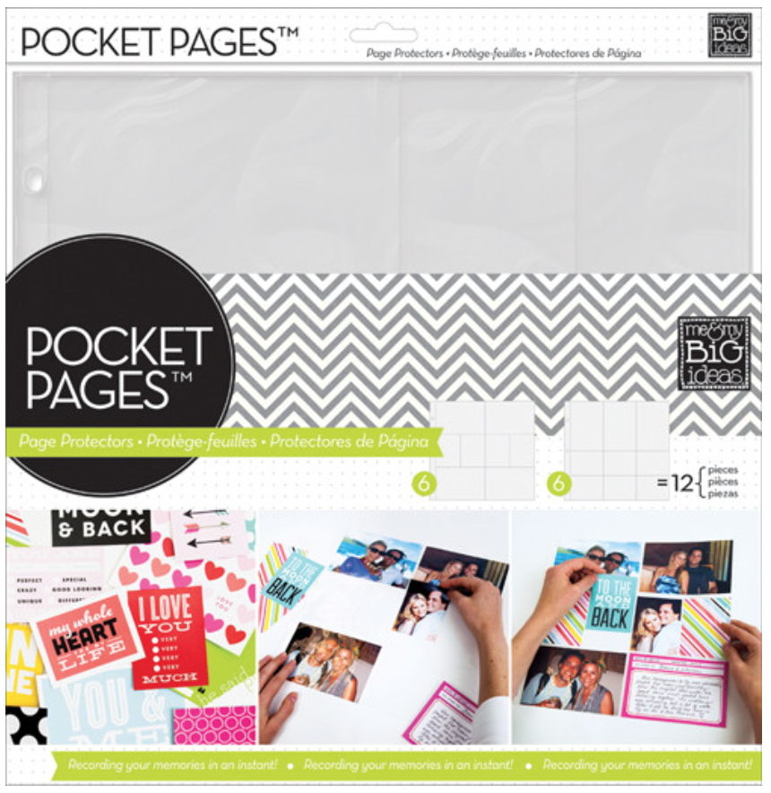 POCKET PAGES™ page protectors | me & my BIG ideas