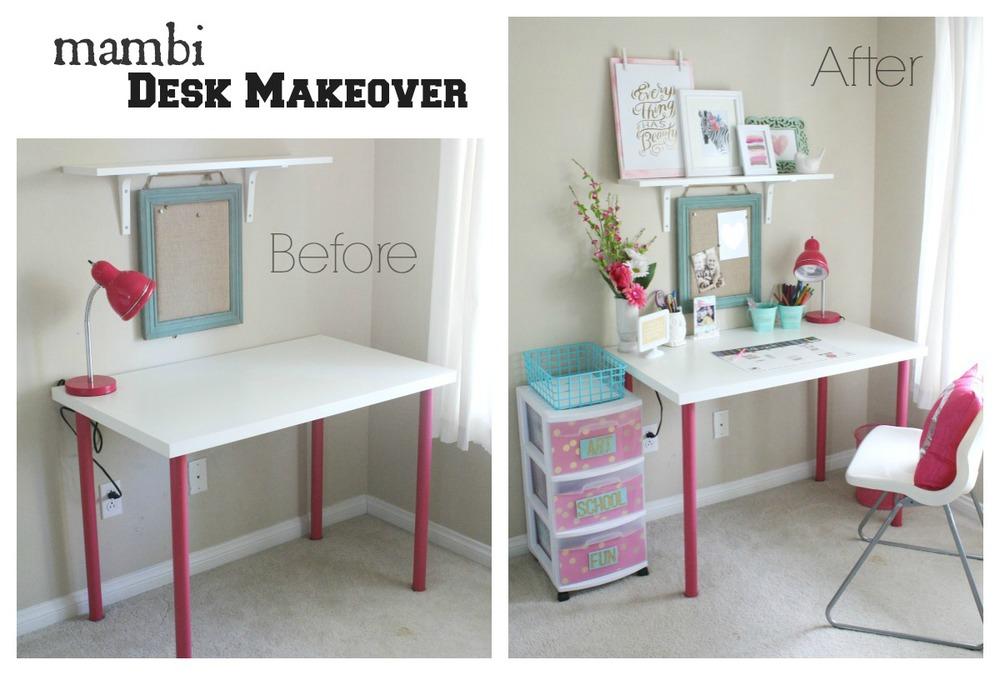 Home Decor Mambi Desk Makeover Me My Big Ideas