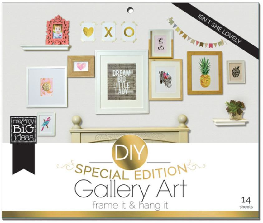 'Isn't She Lovely' Special Edition DIY Gallery Art Pad | me & my BIG ideas