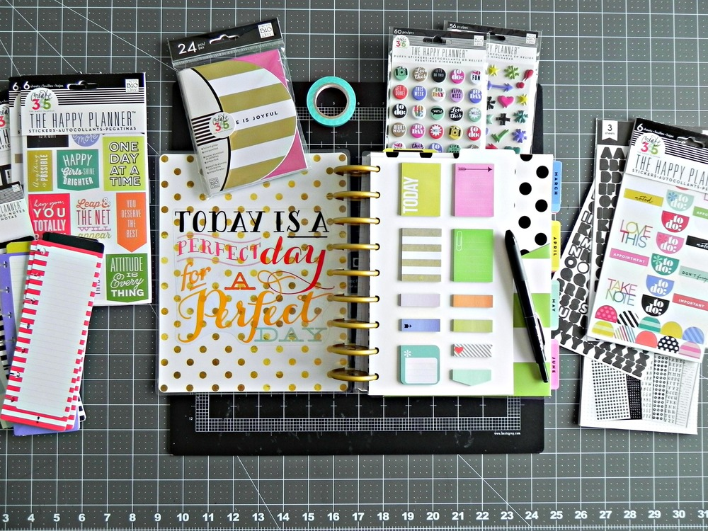 Stephanie buice on her create 365 happy planner me for Happy planner ideas