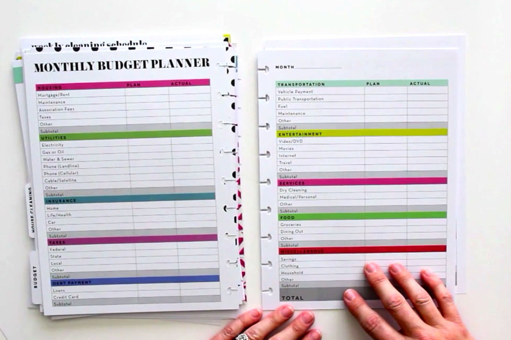 Mambi blog me my big ideas for Me my big ideas planner
