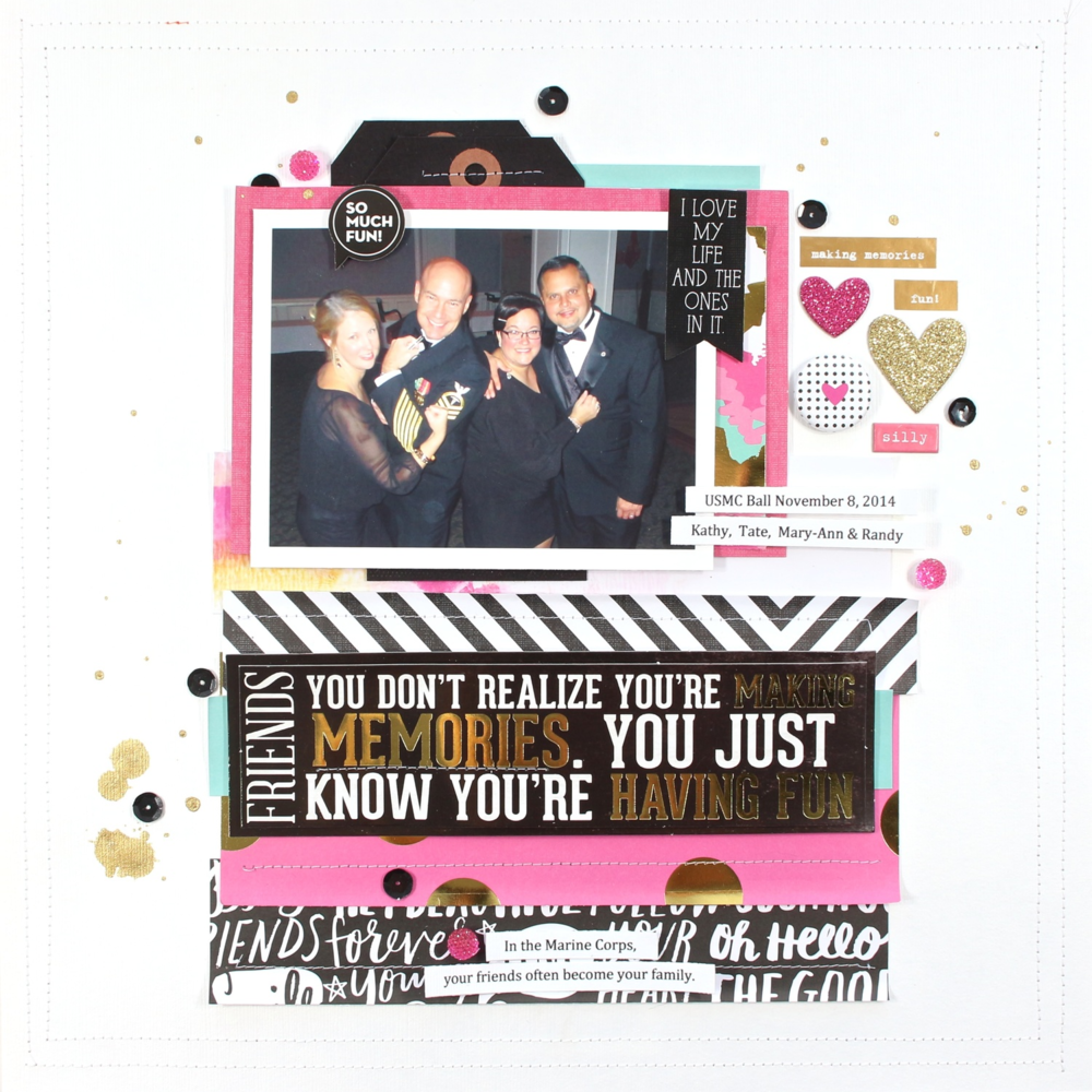 Scrapbook ideas about me -  Memories Scrapbook Page By Mambi Design Team Member Mary Ann Maldonado Me