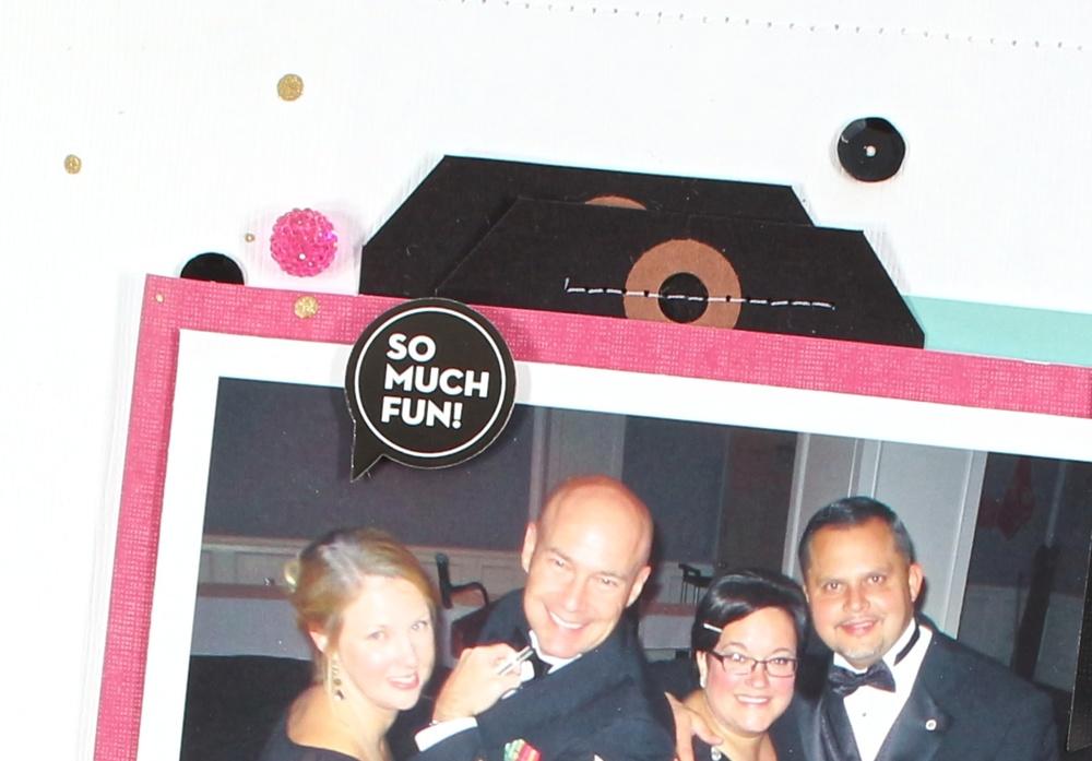 'Memories' scrapbook page by mambi Design Team member Mary-Ann Maldonado | me & my BIG ideas