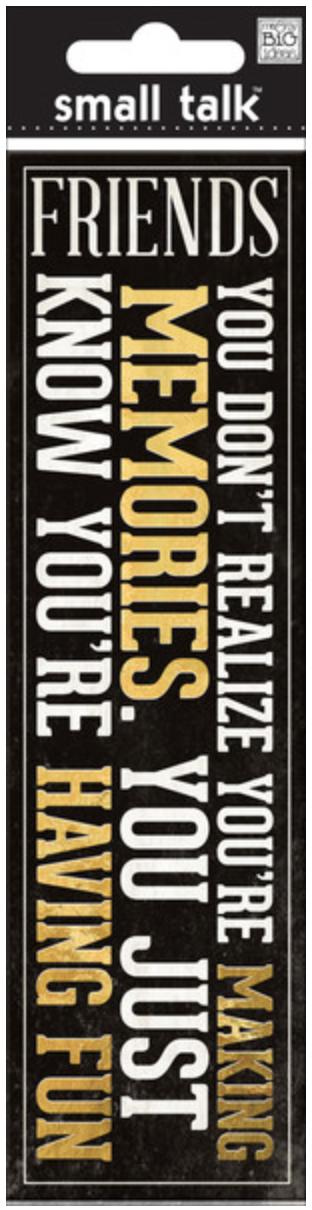 'Making Memories' SMALL TALK™ mambiSTICKS 3D stickers | me & my BIG ideas