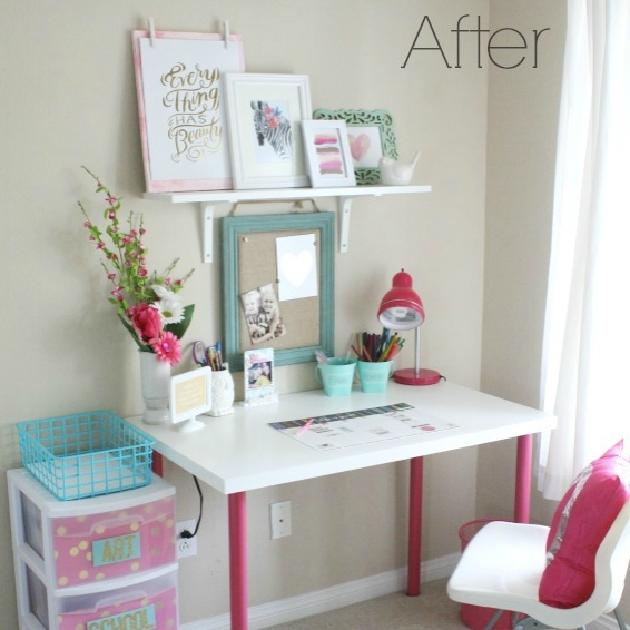 a mambi desk makeover