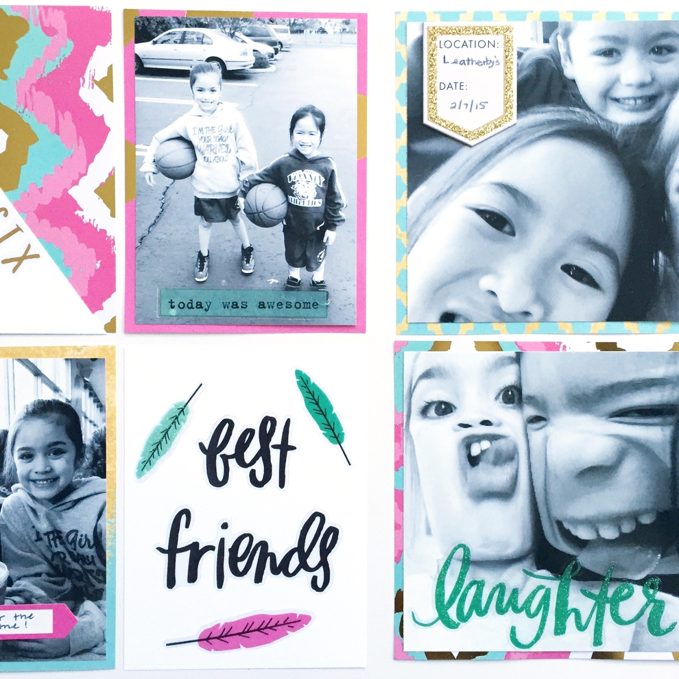 week 6 best friends POCKET PAGES™