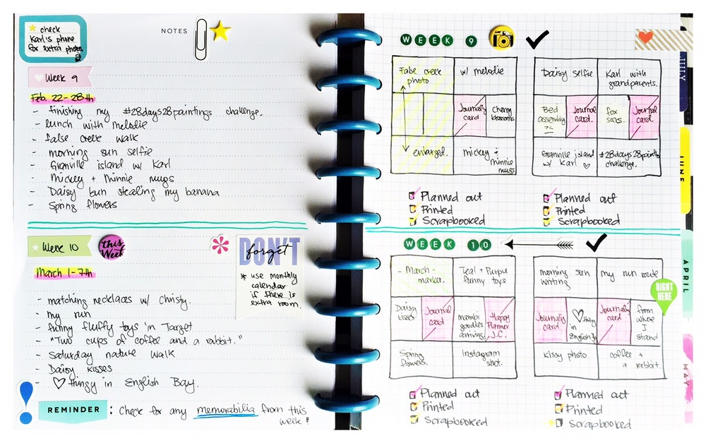 Create 365 The Happy Planner Pocket Pages Planning